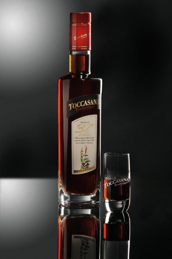 L'Amaro Toccasana e l'alta gastronomia.